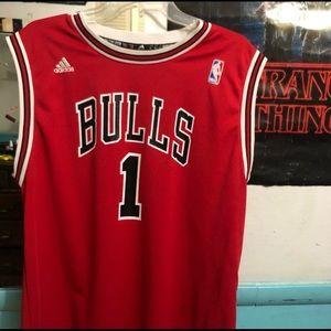 Adidas Derrick Rose Chicago Bulls Jersey